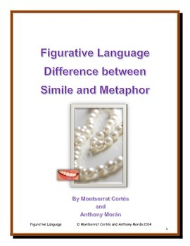 POETRY STATION: Figurative Language - Difference between Simile and Metaphor