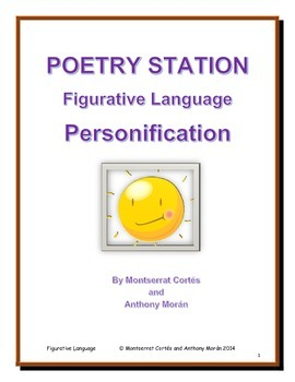 POETRY STATION: Figurative Language - Personification