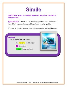 POETRY STATION: Figurative Language - Simile
