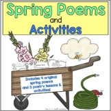 POETRY: Spring Themed Poems and Activities