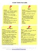 POETRY TERMS TASK CARDS