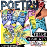 Poetry, Distance Learning, Writing Activities, Poem in You
