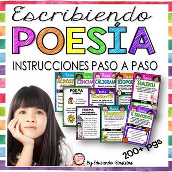 POETRY WRITING UNIT IN SPANISH/ ESCRIBIENDO POESÍA