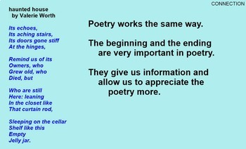 POETRY WRITING and READING - 24 sessions total -  PDF Version
