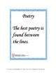 POETRY like a PRO - Analysis and Writing for 4th through 8th and GATE