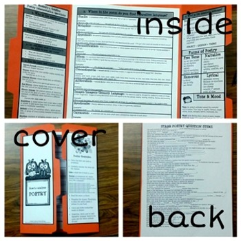 POETRY STAAR student trifold