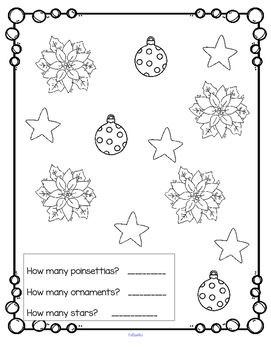 POINSETTIAS Theme Centers and Activities Preschool