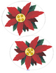 POINSETTIAS Theme Literacy and Math Centers and Activities Preschool