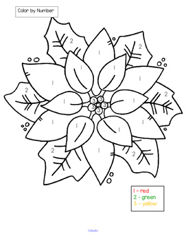 POINSETTIAS Theme Literacy and Math Centers and Activities