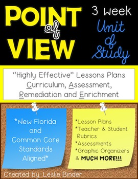 Point of View-3 Week Unit of Study