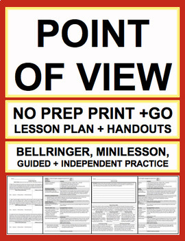 POINT OF VIEW LESSON