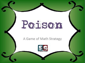 POISON - A Math Strategy Game for Early Finishers