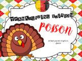 POISON RHYTHMS - THANKSGIVING EDITION (NO PREP)