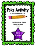 POKE Self Checking Math Task - Multiplication as Scaling: 5.NF.2.5