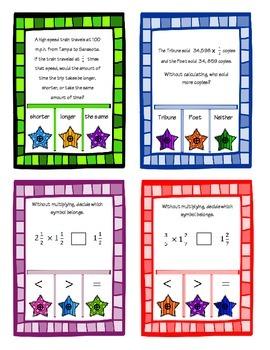 POKE Self Checking Math Task - Multiplication as Scaling: 5.NF.2.5