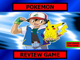 POKEMAN Review Game Template POWERPOINT