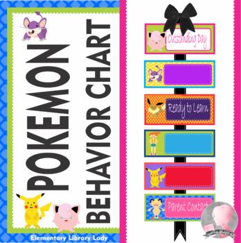 POKEMON GO Theme Behavior Clip Chart - EDITABLE