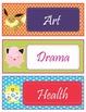 POKEMON GO Theme Schedule Cards - EDITABLE
