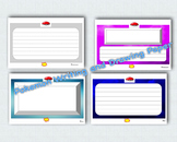 POKEMON Templates for Writing and Bulletin Board