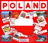POLAND / POLISH LANGUAGE MULTICULTURAL & DIVERSITY RESOURCES DISPLAY GEOGRAPHY