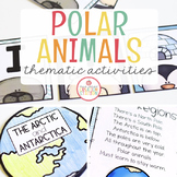 POLAR ANIMALS THEME ACTIVITIES FOR PRESCHOOL, PRE-K AND KINDERGARTEN