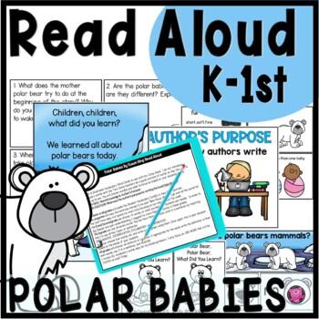 Polar Bears Reading Unit for K through 2nd