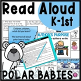 Polar Babies Winter Read Aloud Activities and Lesson Plans for Kindergarten