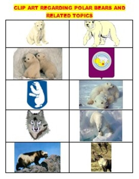 READING, SCIENCE: POLAR BEARS LEARNING PACK (Common Core, Fun, 84 pp Sale)