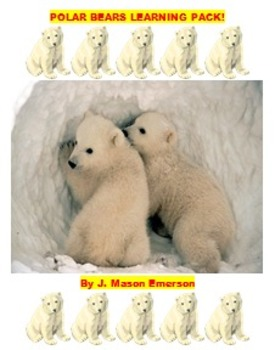 READING, SCIENCE: POLAR BEARS LEARNING PACK (Common Core,