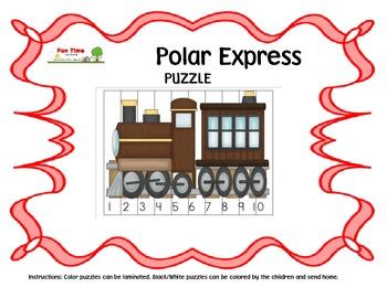 POLAR EXPRESS PUZZLES