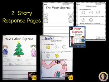 Polar Express ~ Literacy and Math Worksheets & Centers