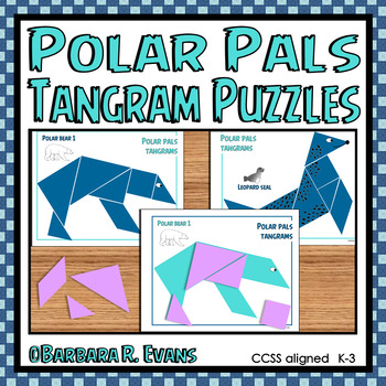 POLAR PALS TANGRAM PUZZLES  Math Center Problem Solving Critical Thinking