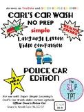 POLICE CAR Edition: Carl's Car Wash Language Lesson Video Companion
