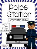 POLICE STATION or DETECTIVE Dramatic Play Center