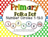 Primary POLKA DOT Number Circles 1-120