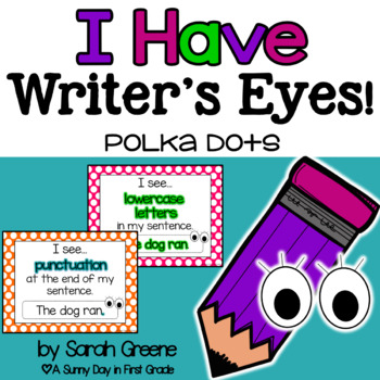 Writer's Eyes {polka dots}