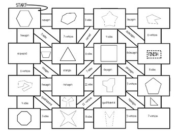 POLYGON Maze Activities!