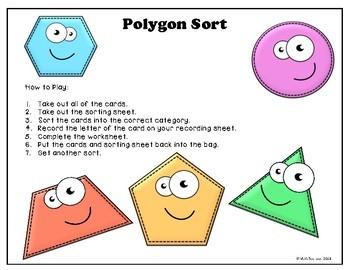 POLYGON SORTING ACTIVITY