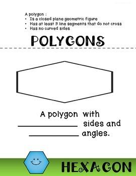 POLYGONS FLIP BOOK VIRGINIA SOL 4.12 GEOMETRY