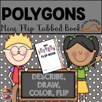 POLYGONS Mini Tabbed Flip Book VA SOL Aligned
