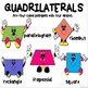 Polygons and Quadrilaterals Bulletin Board Math Set