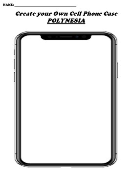 POLYNESIA CREATE YOUR OWN CELL PHONE COVER