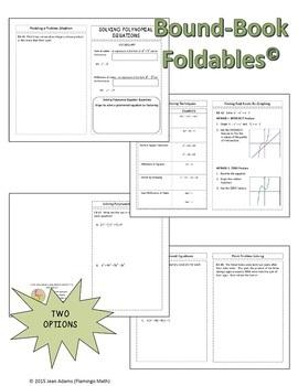 Algebra 2: Solving Polynomial Equations