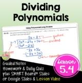 Algebra 2: Dividing Polynomials