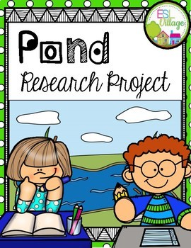 POND Research/Report Project Booklet