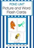 POND UNIT- PICTURE AND WORD FLASH CARDS