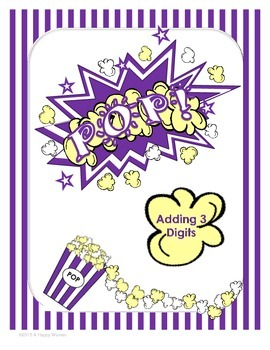 POP! 3 Digit Addition - (1st Grade)
