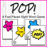 POP! A Pre-Primer Sight Word Game.