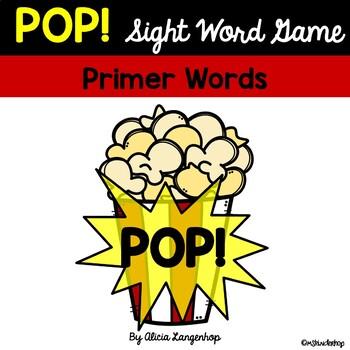 POP! A Sight Word Game PRIMER SET