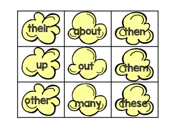 POP! A Sight Word Reading Game